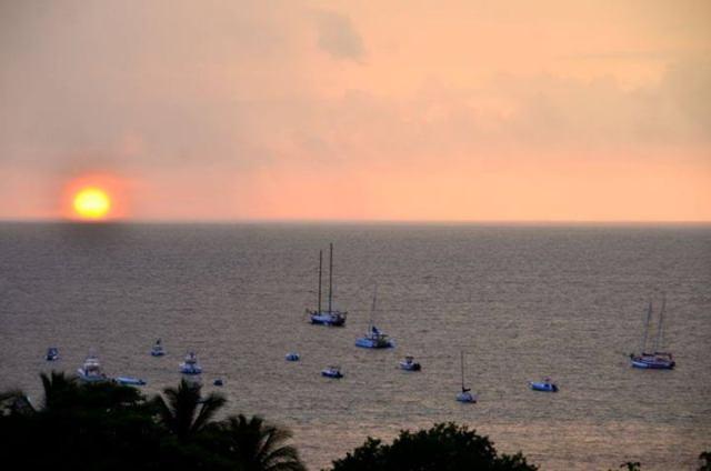 Sunset in Tamarindo, by Keith Hajovsky