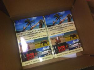 Our box of books, fresh off the press!