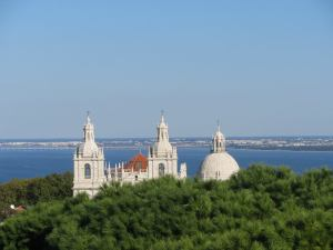 View from the Castle of Sao Jorge in Lisbon, Portugal.