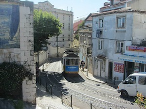 The famous Tram 28 for tourists is worth the higher ticket price for the scenic ride through the city.